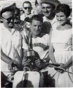 Carroll Resweber won the very first AMA Grand National at the Sacramento MiLe on July 19, 1959.