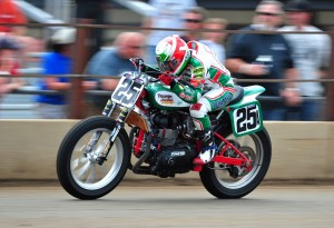 Shayna Texter not only faces the challenge of being an AMA Grand National rookie, but she's learning to race a new motorcycle in the Latus Racing/Castrol Triumph.