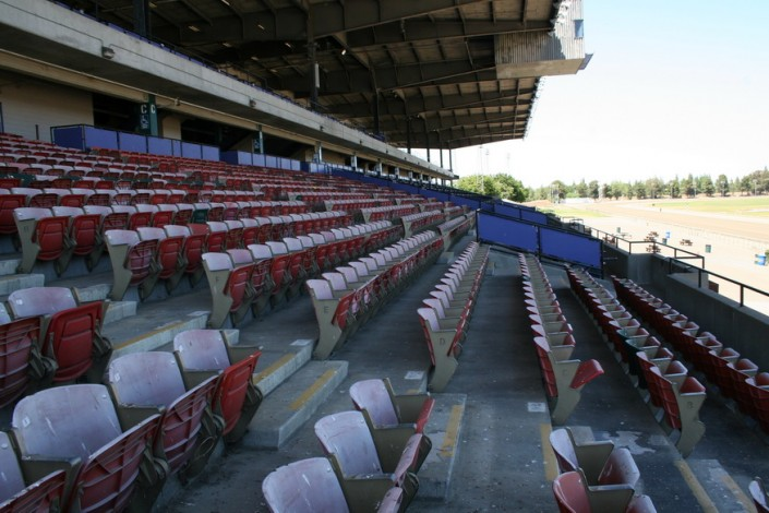 Sacramento Mile Lower Grandstand Seating