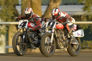 Clash of the Titans II, featuring Chris Carr (4) and Jay Springsteen (9) is coming to the May 30, 2015 Sacramento Mile. (Photo courtesy Dave Hoenig/AMA Pro Racing)